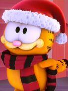 Garfield in winter