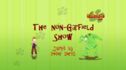 The Non-Garfield Show Title Card.png