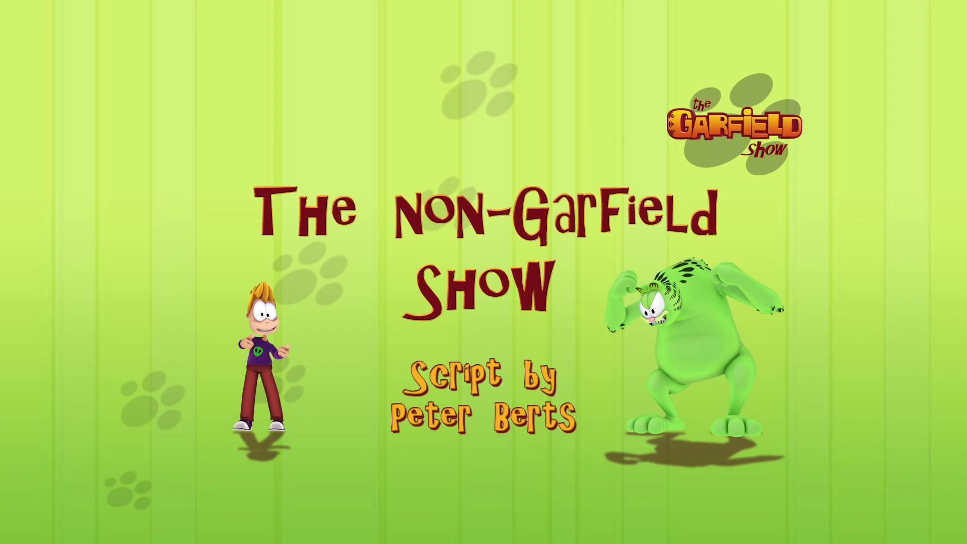 The Non-Garfield Show