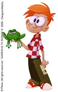 Freddy Applegate and Frog Concept