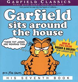 Garfield Sits Around the House