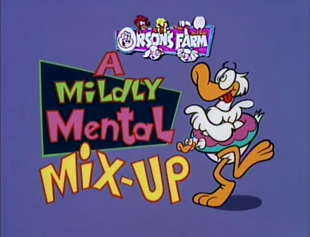 A Mildly Mental Mix-Up