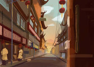 Yuyuan Street Colour Concept