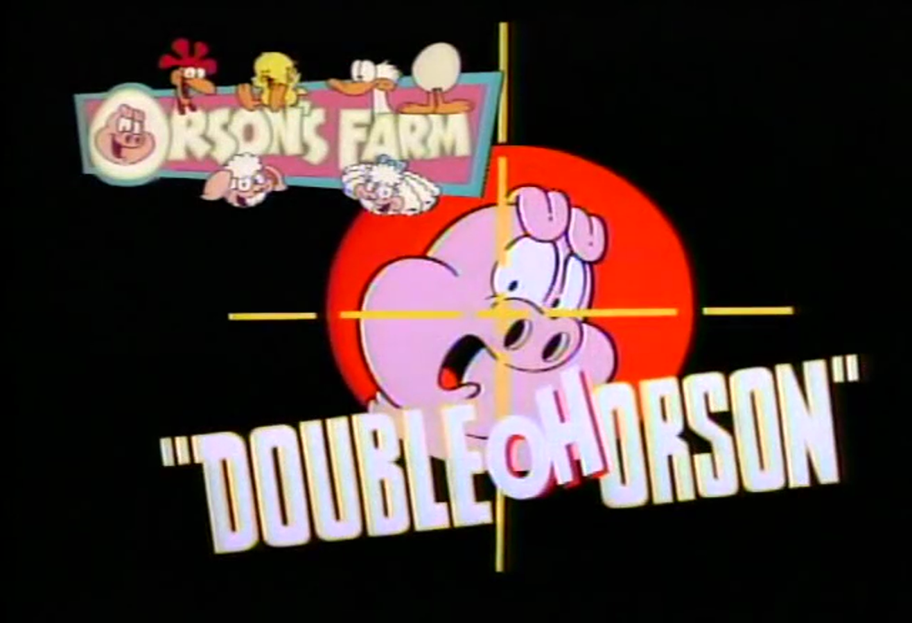 Double Oh Orson