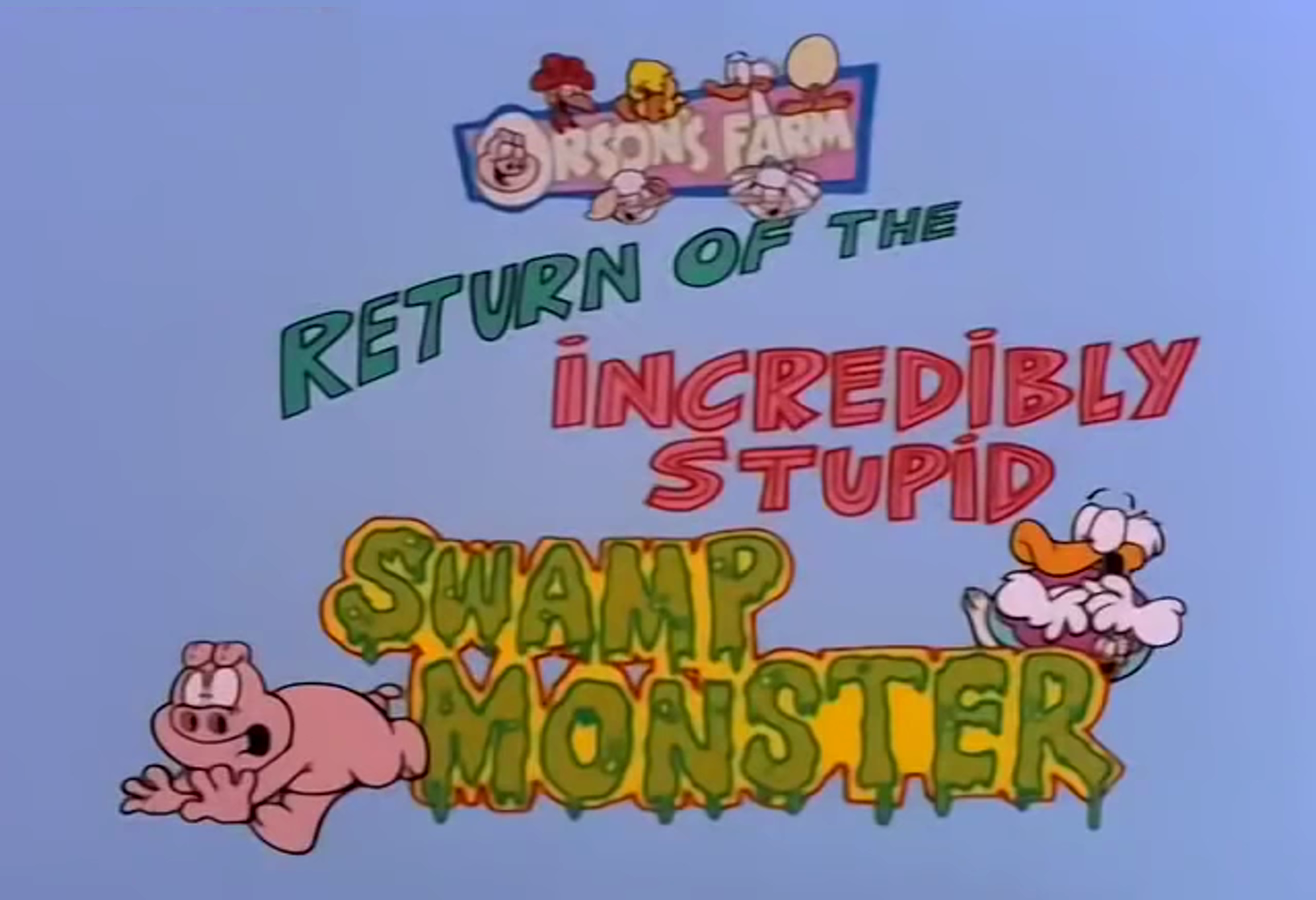 Return of The Incredibly Stupid Swamp Monster