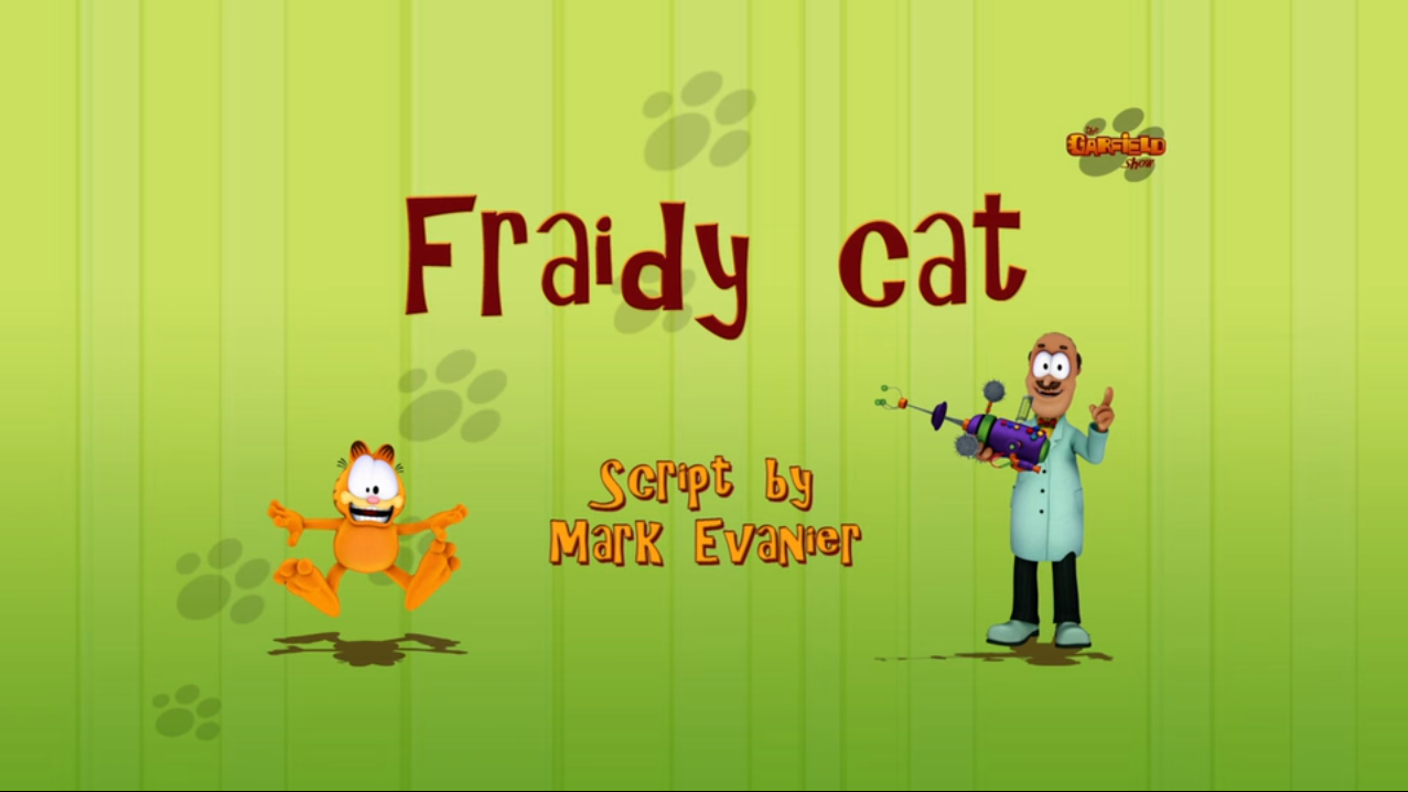 Fraidy Cat (The Garfield Show)
