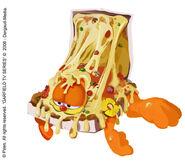 Garfield in Pizzabox Concept