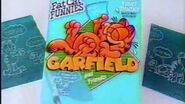 1991 Garfield and Friends Fat Cat Funnies Fruit Snacks Commercial