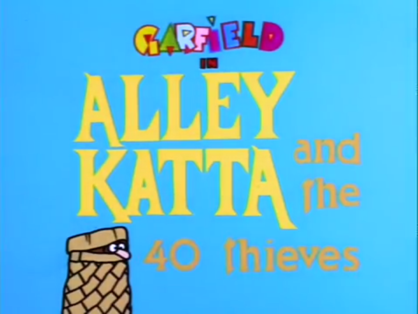 Alley Katta and the 40 Thieves