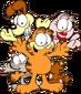 Garfieldand friends