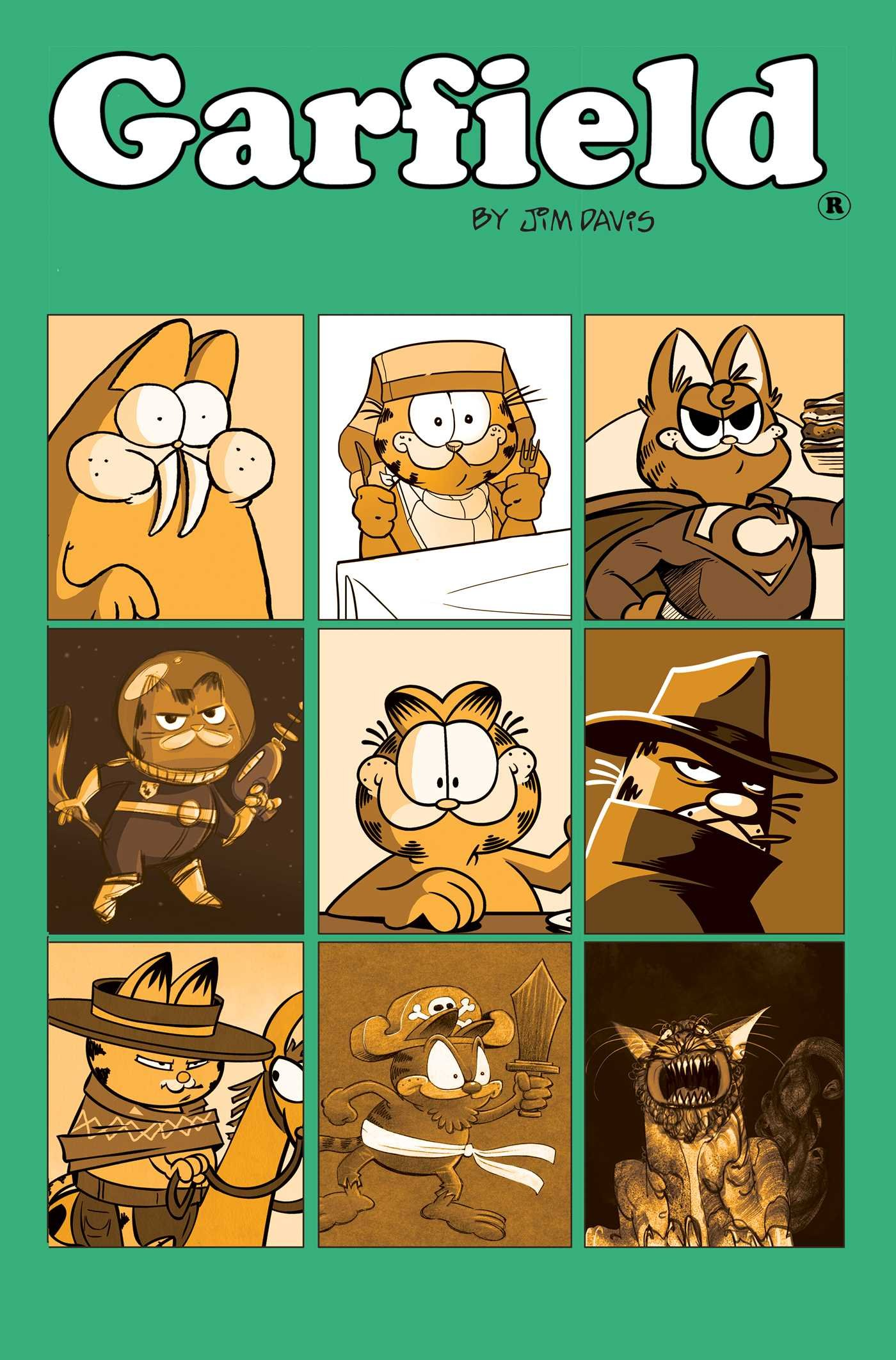 Garfield: His 9 Lives (Book)