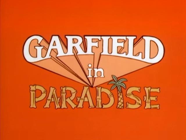 Garfield in Paradise