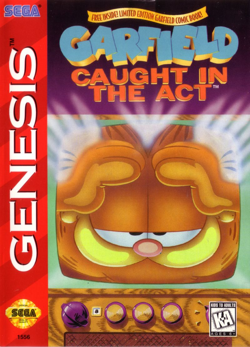 Garfield: Caught in the Act