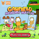 Garfield and Co Memory Match