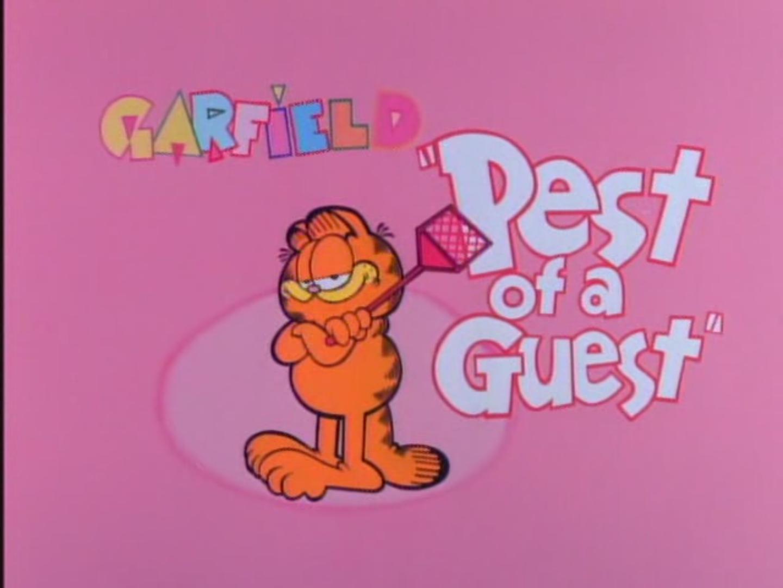 Pest Of A Guest Garfield Wiki Fandom