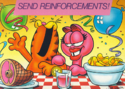 Garfield and Arlene Party 1980s better quality