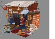 Laoximen Street Shop Colour Concept