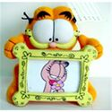 Plush garfield with the photo frame stuffed toys
