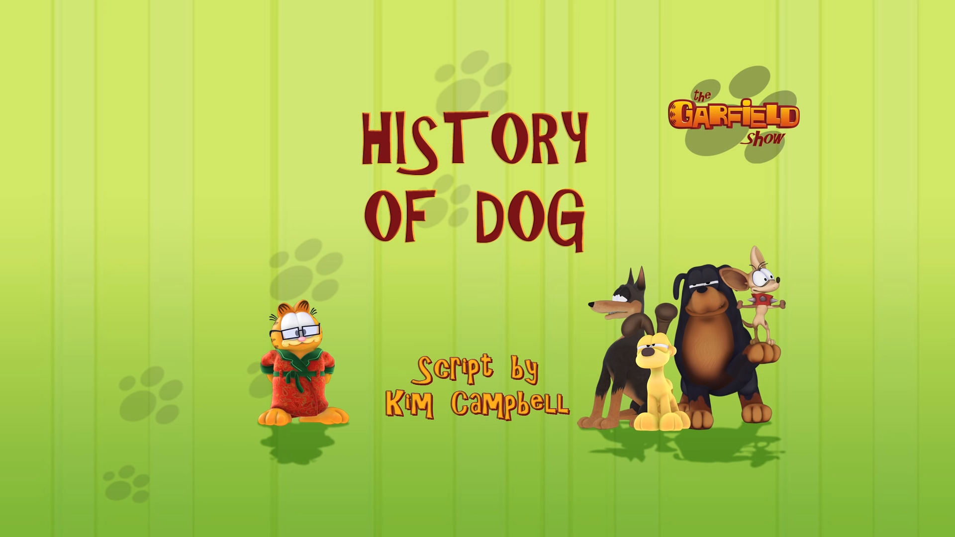 History of Dog
