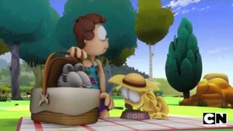 Retro Switcheroo The Garfield Show Cartoon Network