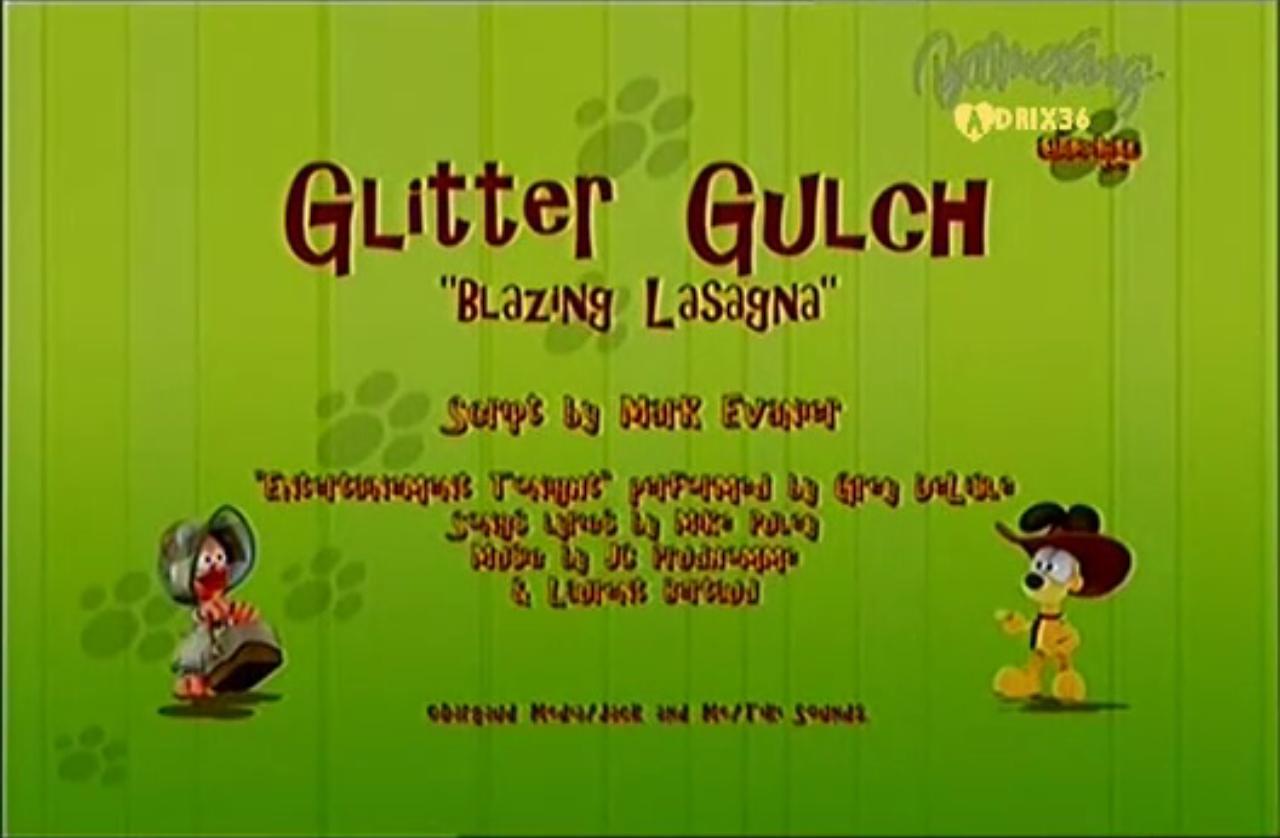 Glitter Gulch Blazing Lasagna Garfield Wiki Fandom