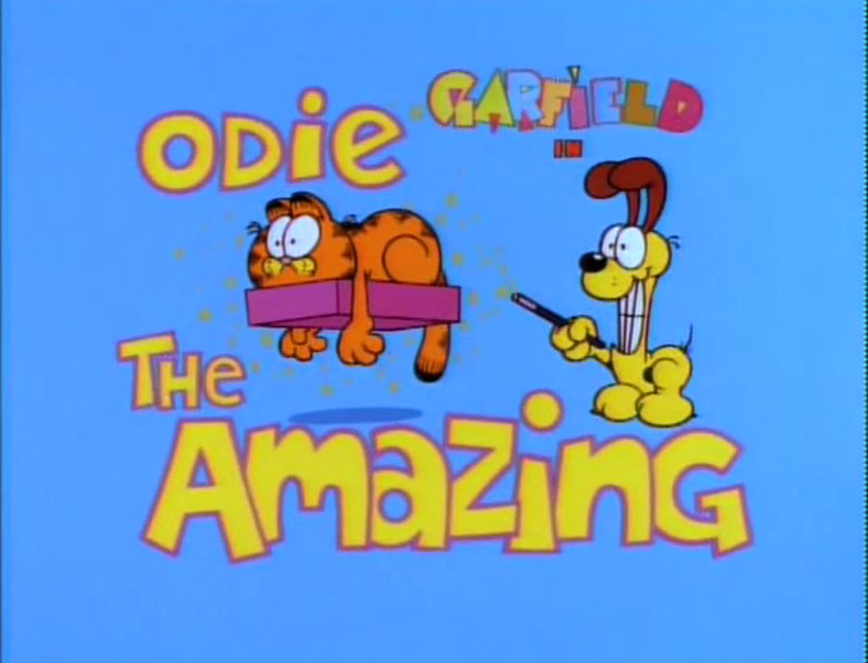 Odie The Amazing Garfield Wiki Fandom