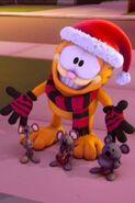 Garfield in winter 2