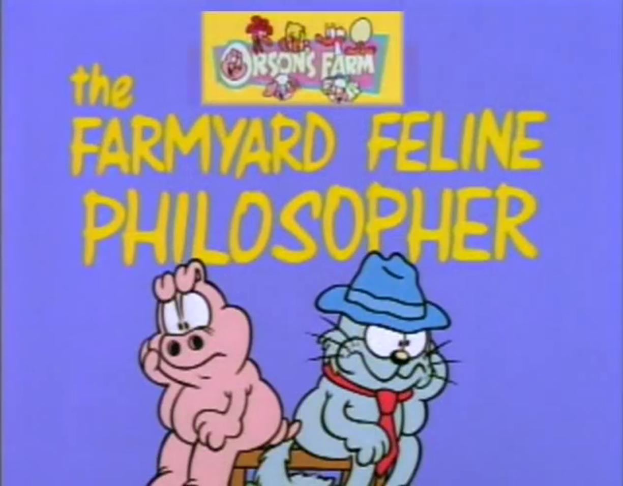 The Farmyard Feline Philosopher