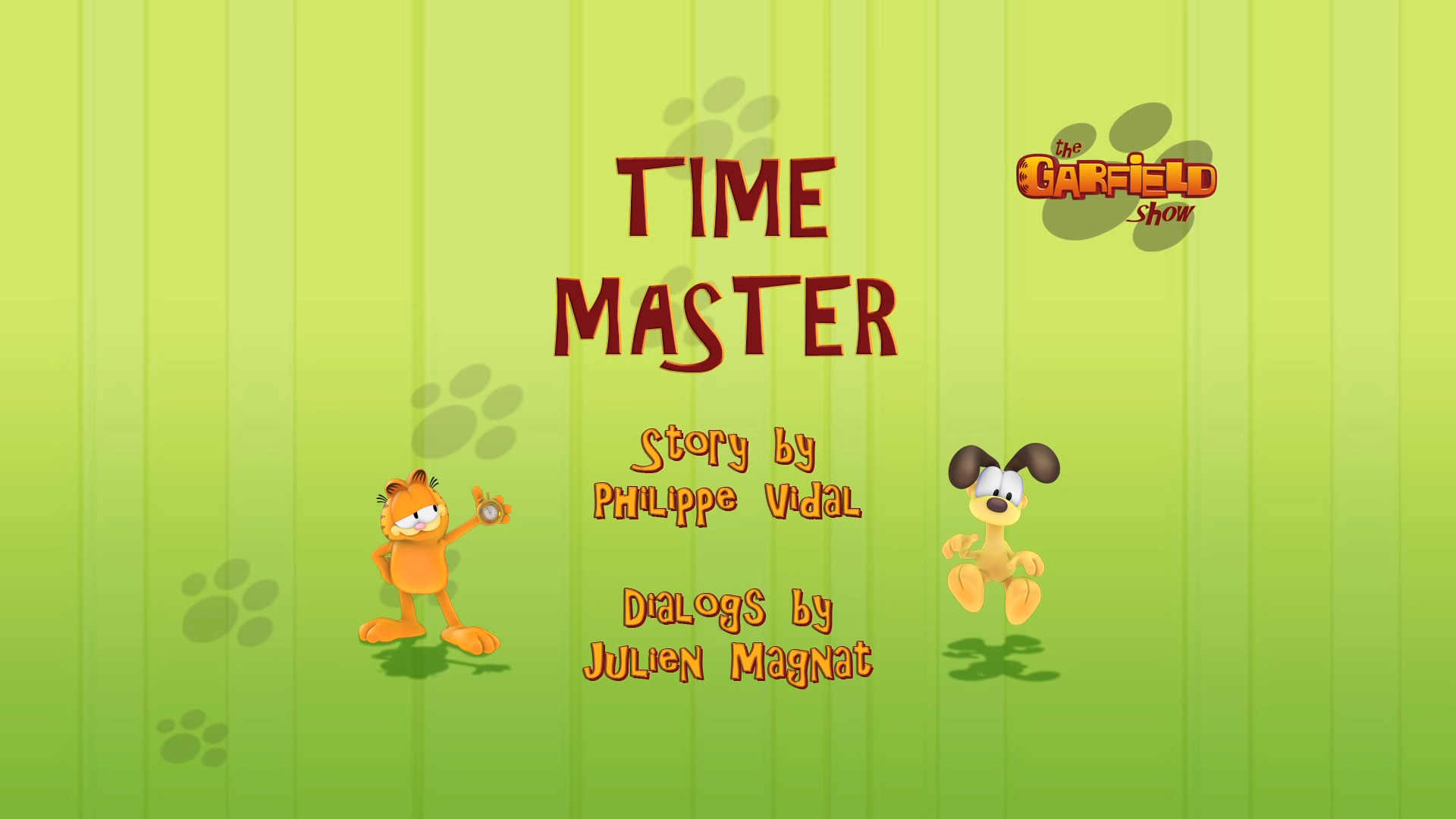 Time Master Garfield Wiki Fandom