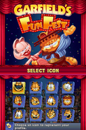 Garfield's Fun Fest icons