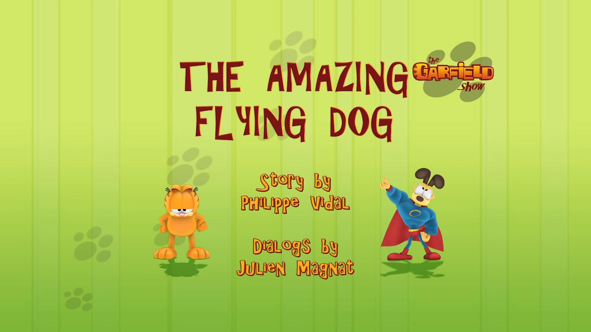 The Amazing Flying Dog