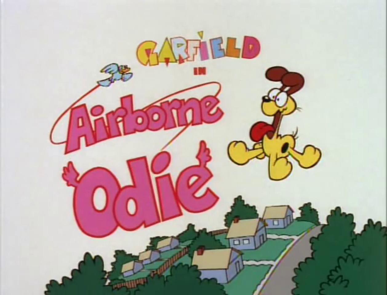 Airborne Odie