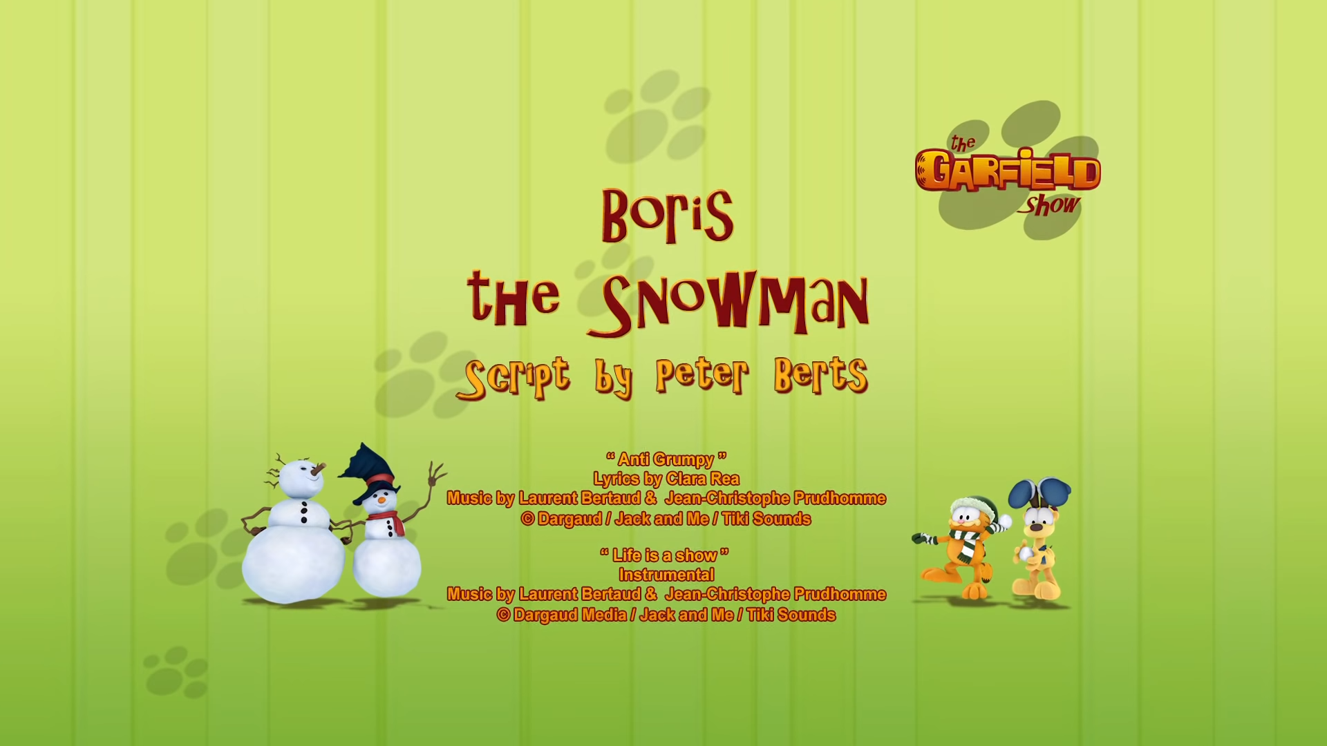Boris the Snowman