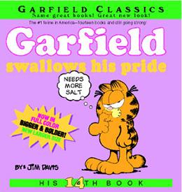 Garfield Swallows His Pride
