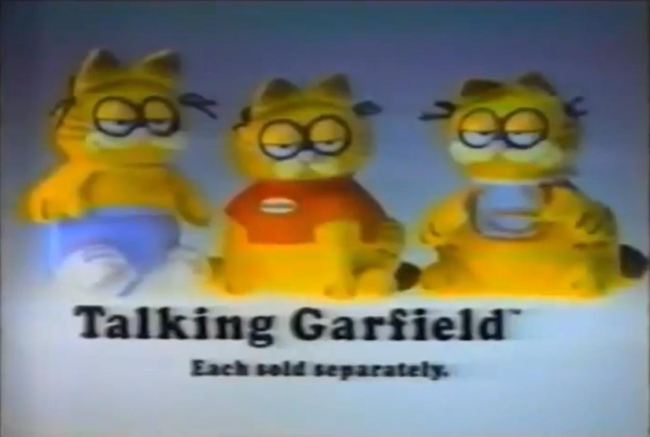 List of Garfield Merchandise