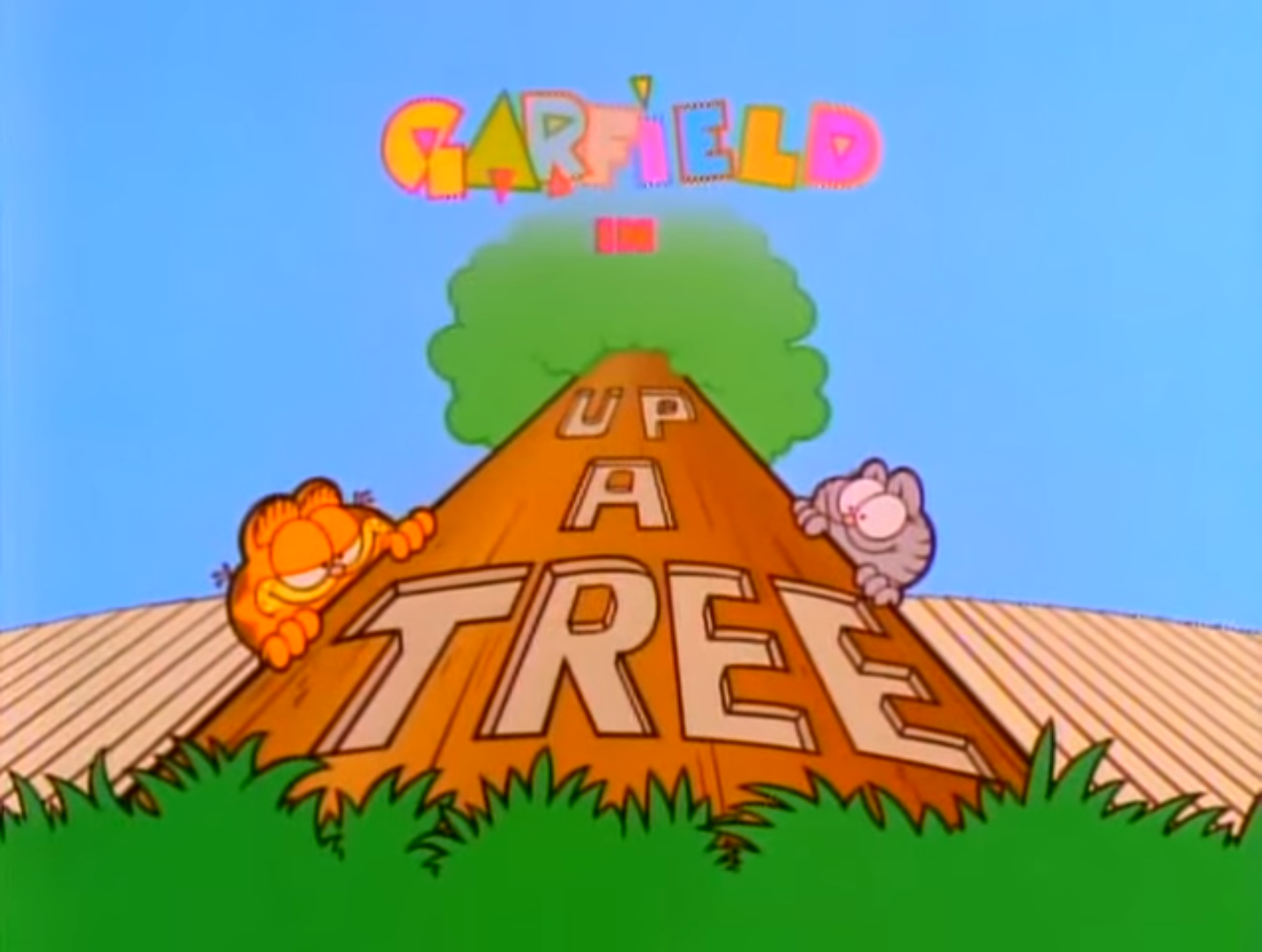 Up a Tree (Garfield and Friends)