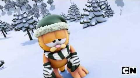 Ski Trip The Garfield Show Cartoon Network
