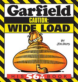 Garfield Caution: Wide Load