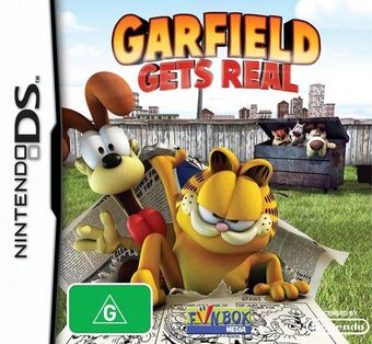 Garfield Gets Real Video Game Garfield Wiki Fandom