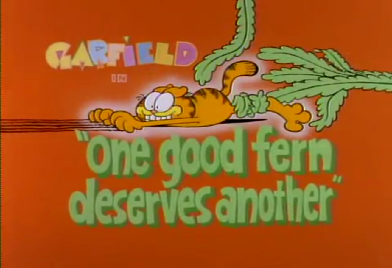 One Good Fern Deserves Another