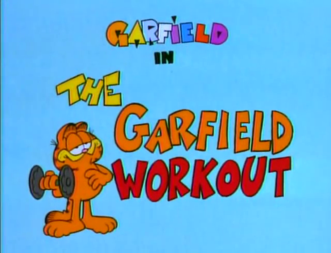 The Garfield Workout Garfield Wiki Fandom