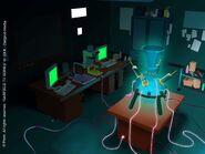 Laboratory Night Concept