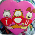 Garfield arlene and odie loves you