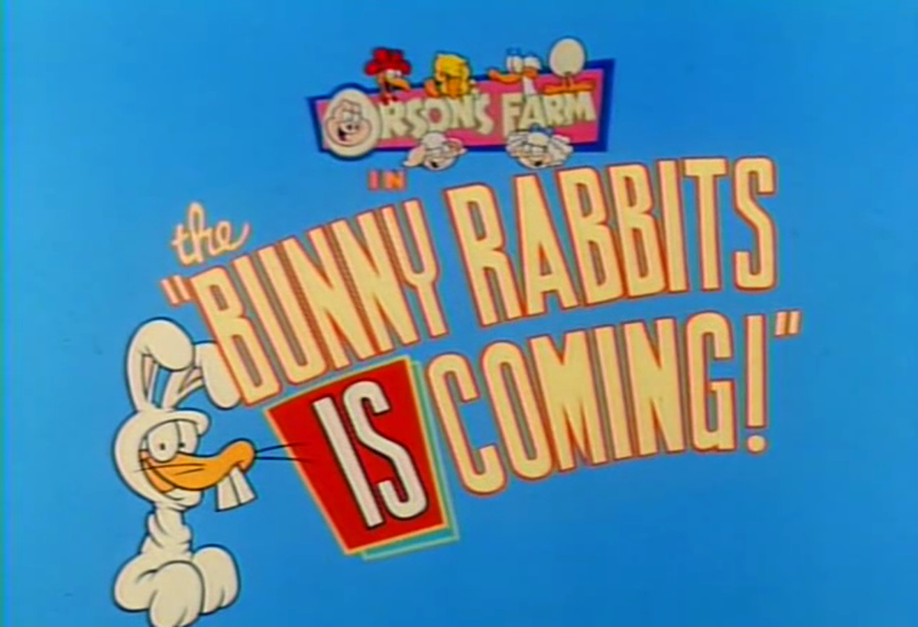 The Bunny Rabbits is Coming!