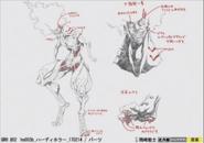 Begand Garo Vanishing Line Concept Art