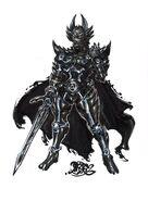 Jaaku (Black Garo) Concept Art