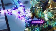 Veil's sword whip cooled around Garoken