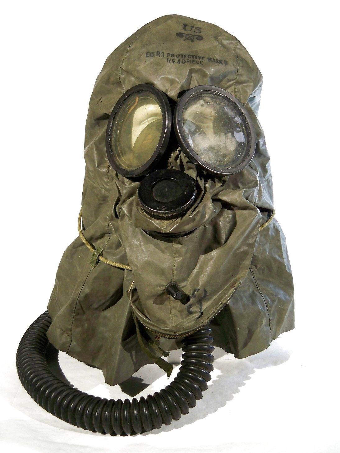 E15R3 Protective Mask Headpiece
