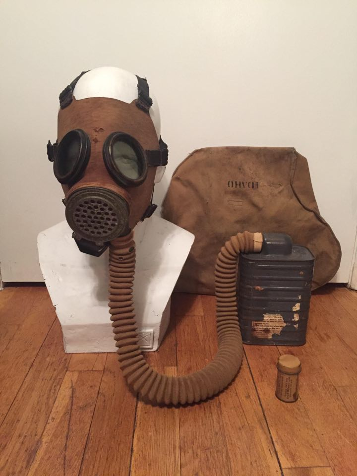 MI diaphragm gas mask
