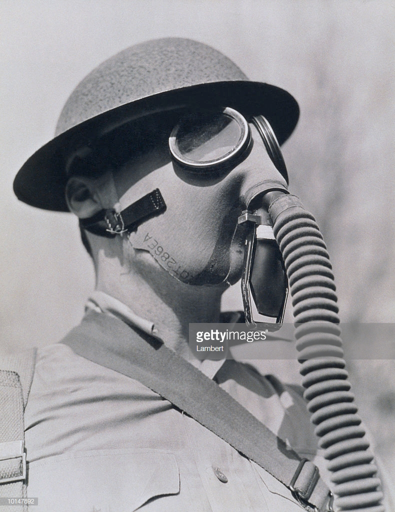 MI service gas mask